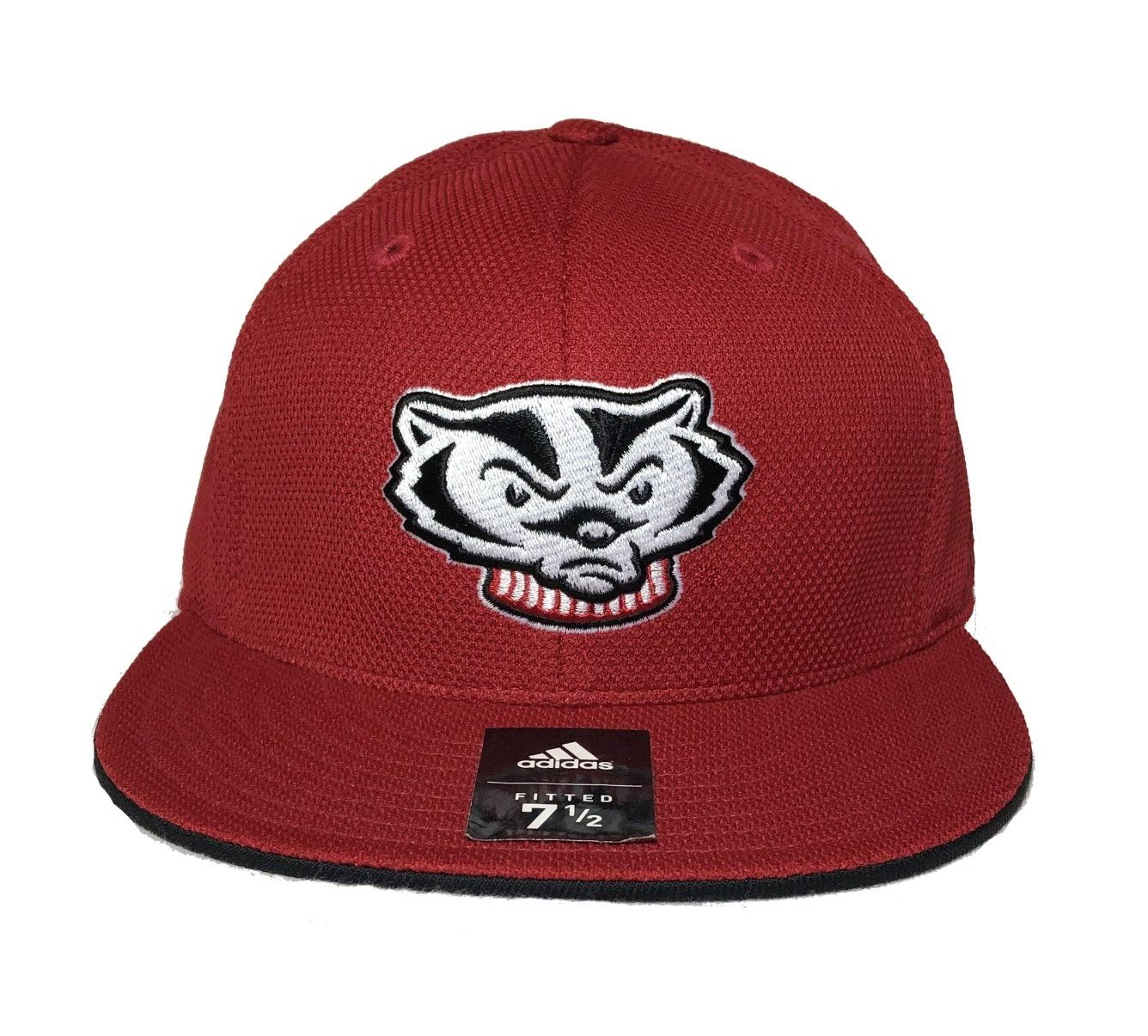 bb5ee8e4932 Adidas Wisconsin Badgers Fitted Cap TM60M   Color  Team - Scotteez Urban